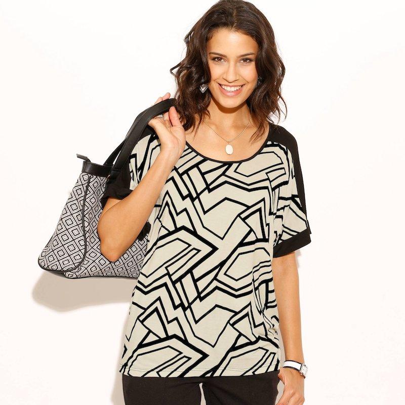 Camiseta mujer estampada
