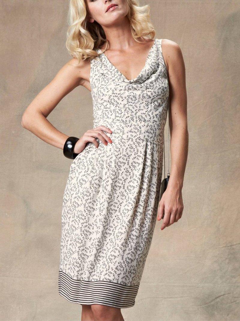 Vestido de mujer estampado