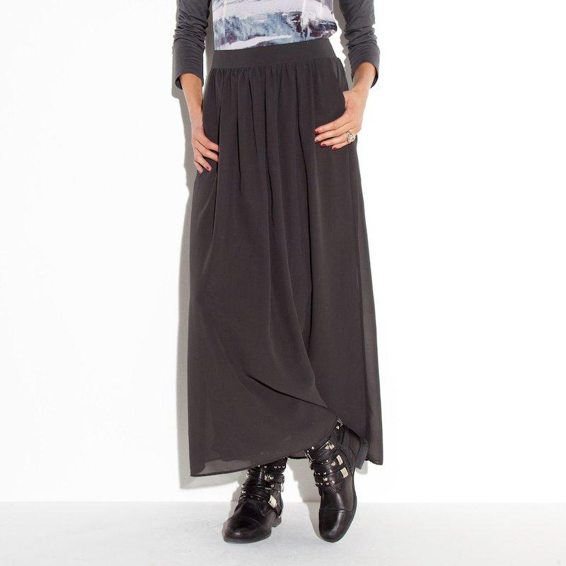 Falda larga mujer