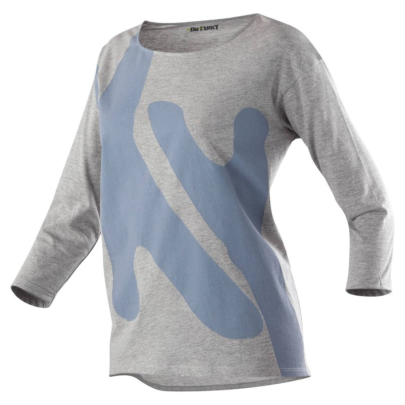Camiseta deportiva mujer - Gris