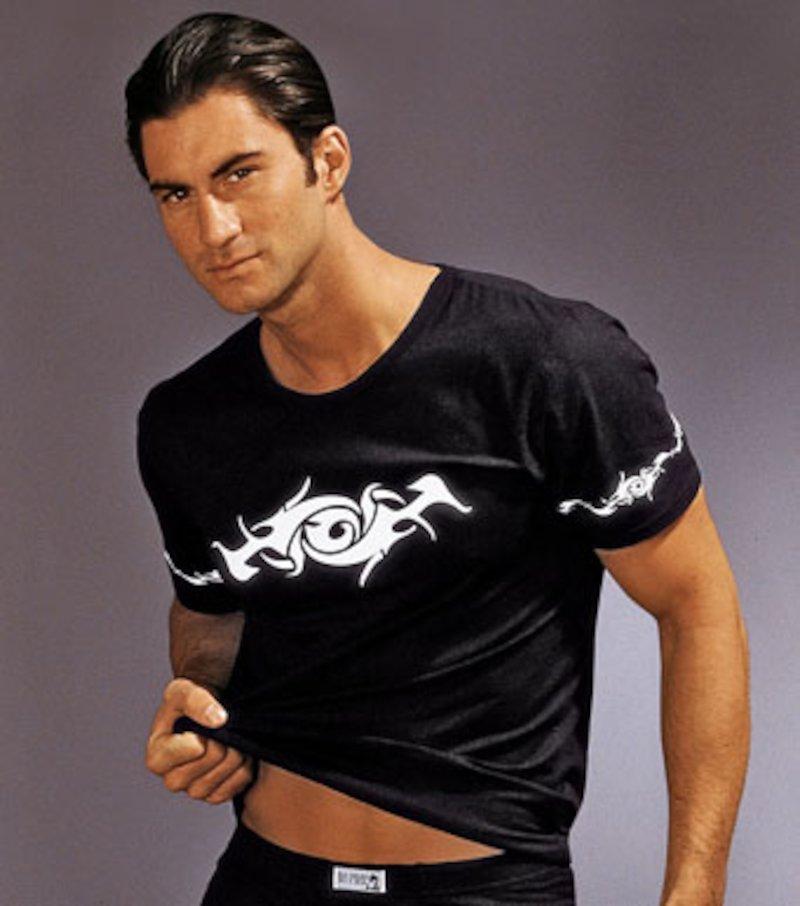 Camiseta interior estampada hombre