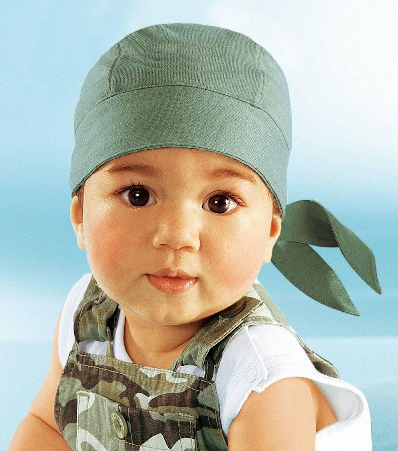 Bandana niño tipo gorra 100% algodón