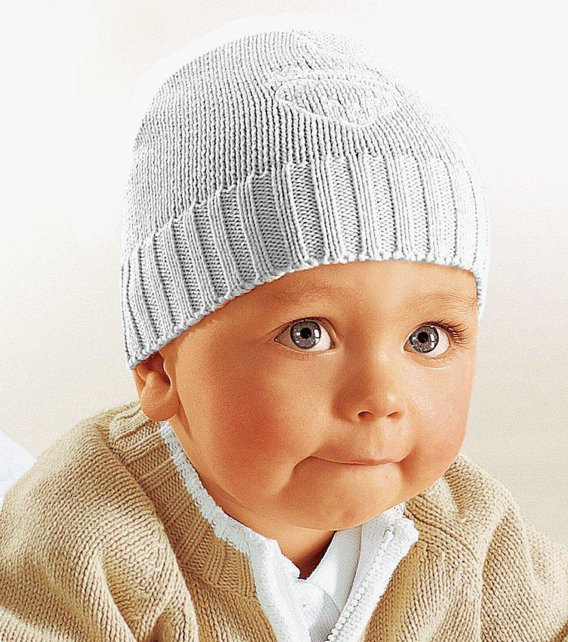 Gorro de punto niño 100% algodón
