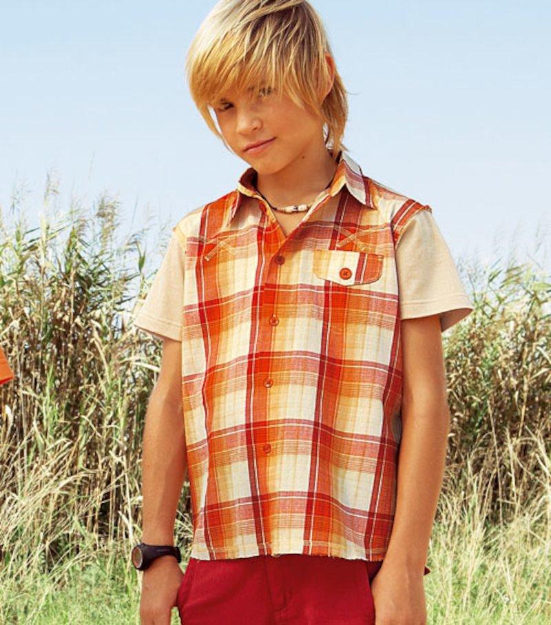Camisa niño de manga corta