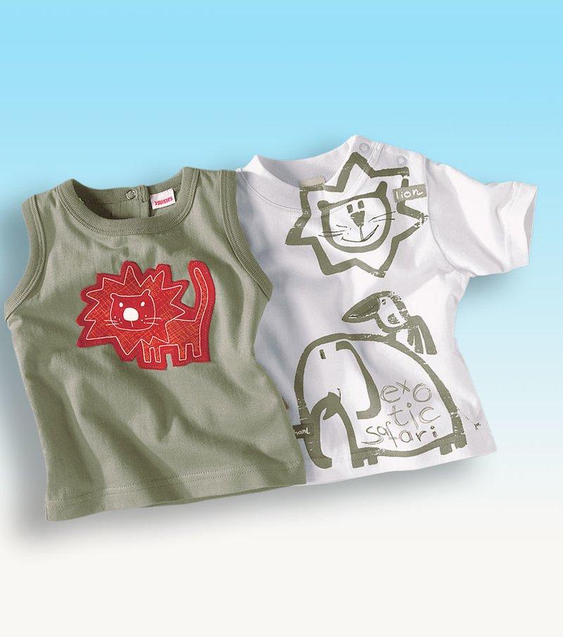 Lote de 2 camisetas bebé