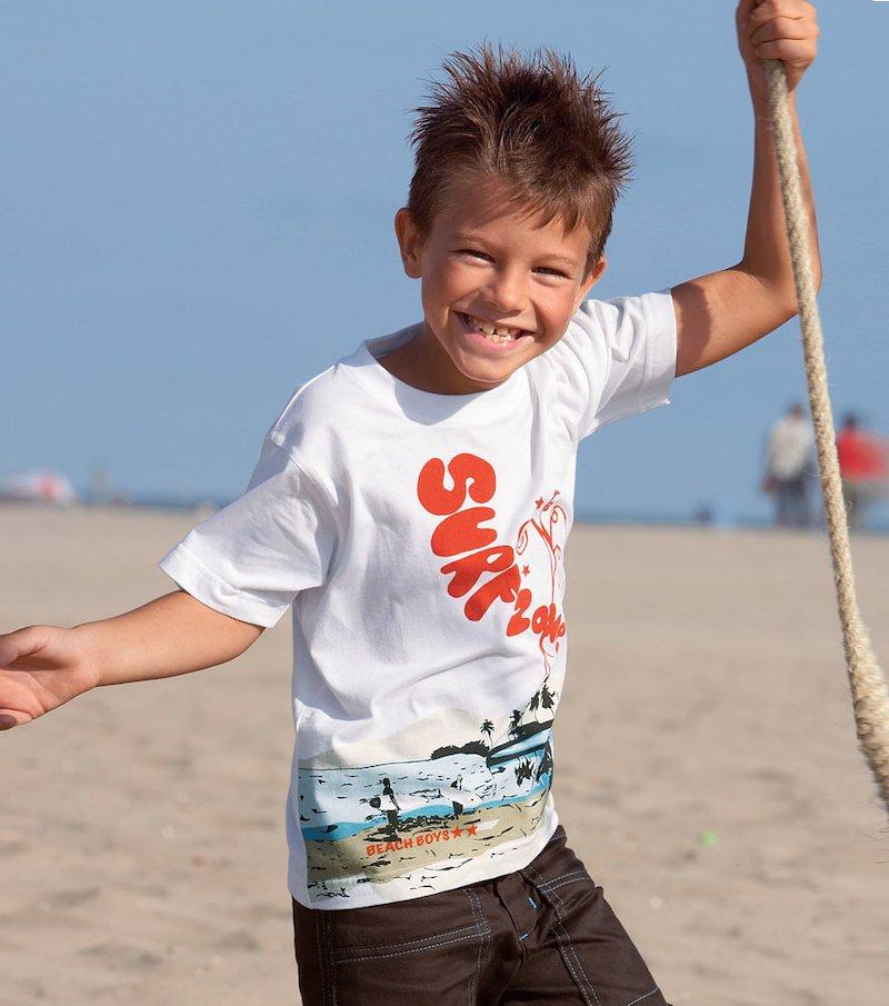 Camiseta niño de manga corta