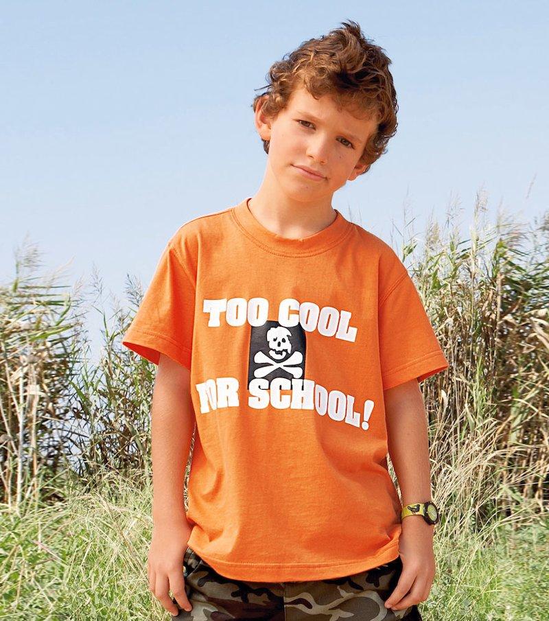 Camiseta de niño  manga corta