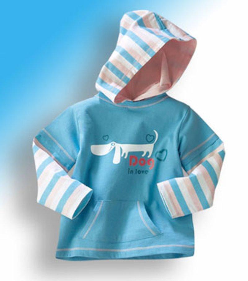 Camiseta niña con capucha