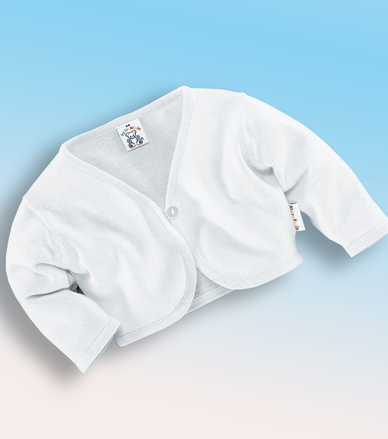Chaqueta tricot de niña 100% algodón