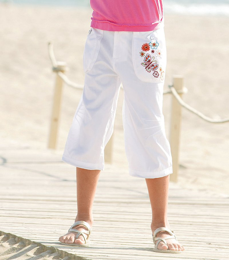Pantalón pirata de niña