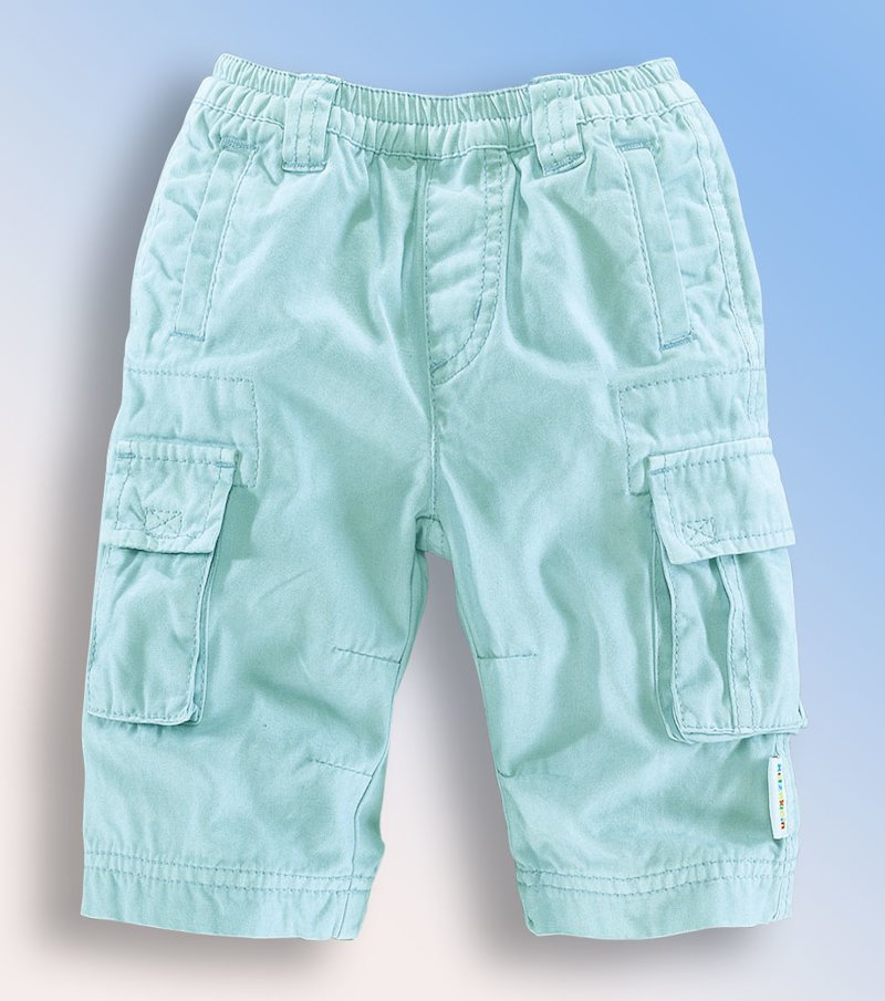 Pantalón multibolsillos bebé 100% algodón