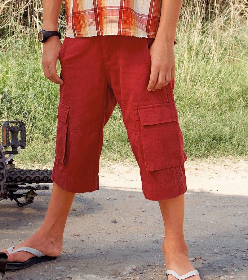 Pantalón Bermudas de niño - Verde
