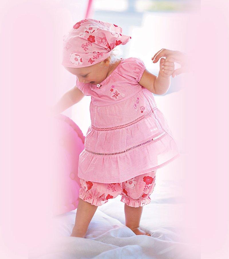 Conjunto bebé vestido y pantalón