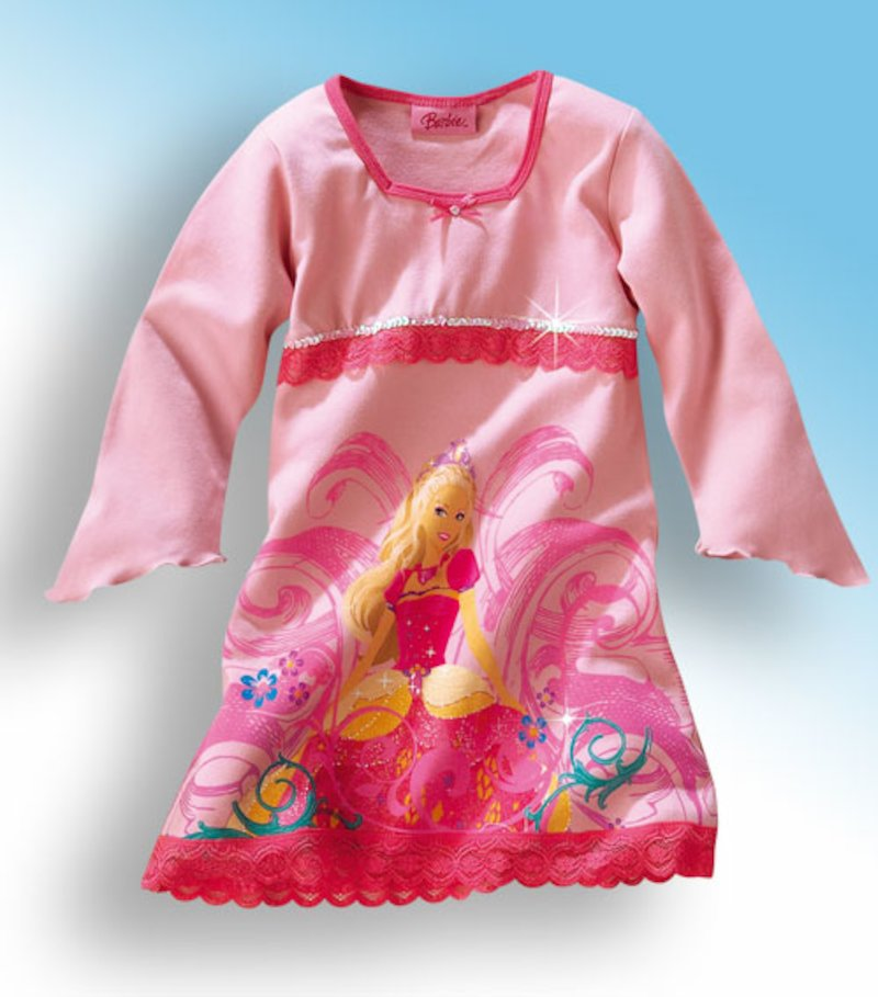Camisón de niña Barbie