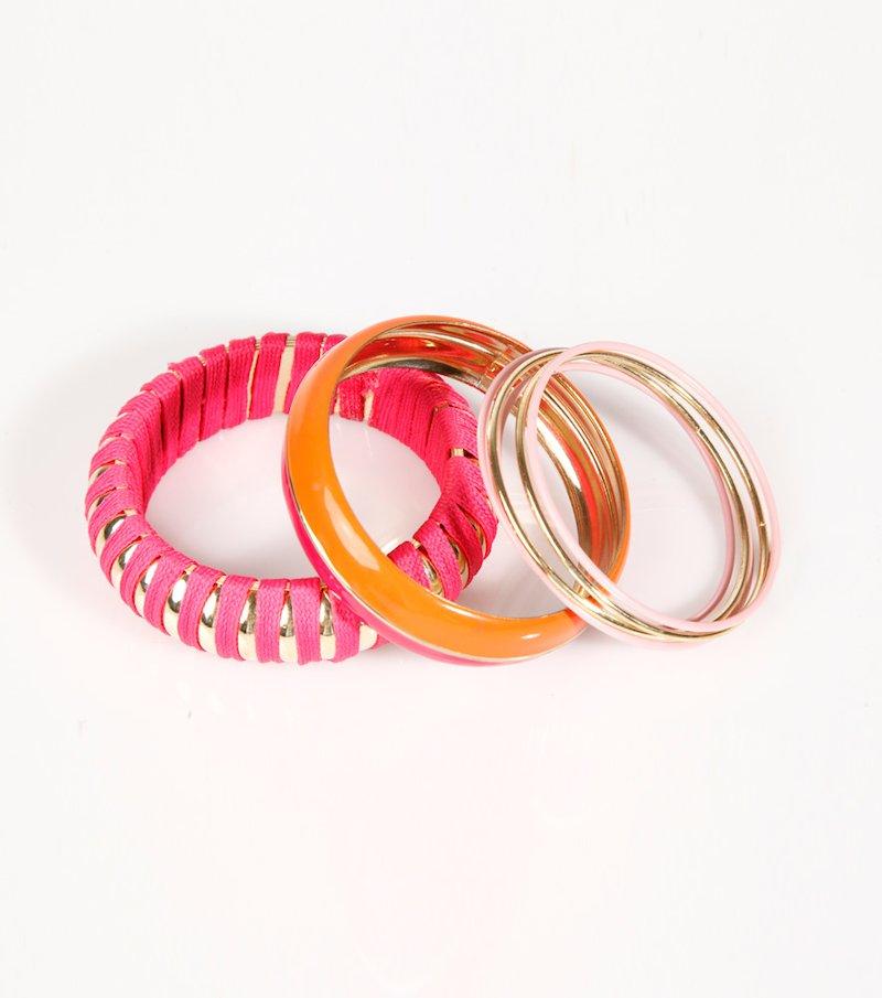 Lote de pulseras mujer diseños surtidos
