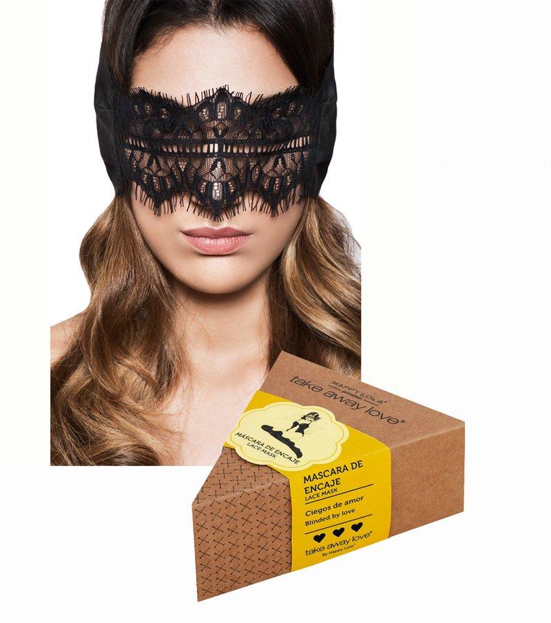 Máscara encaje sexy adultos bondage