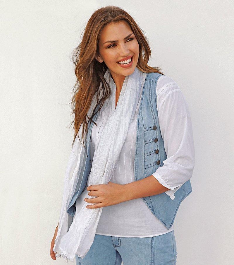 Foulard mujer con crochet