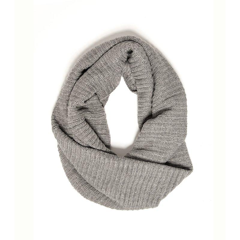 Bufanda cuello mujer punto tricot