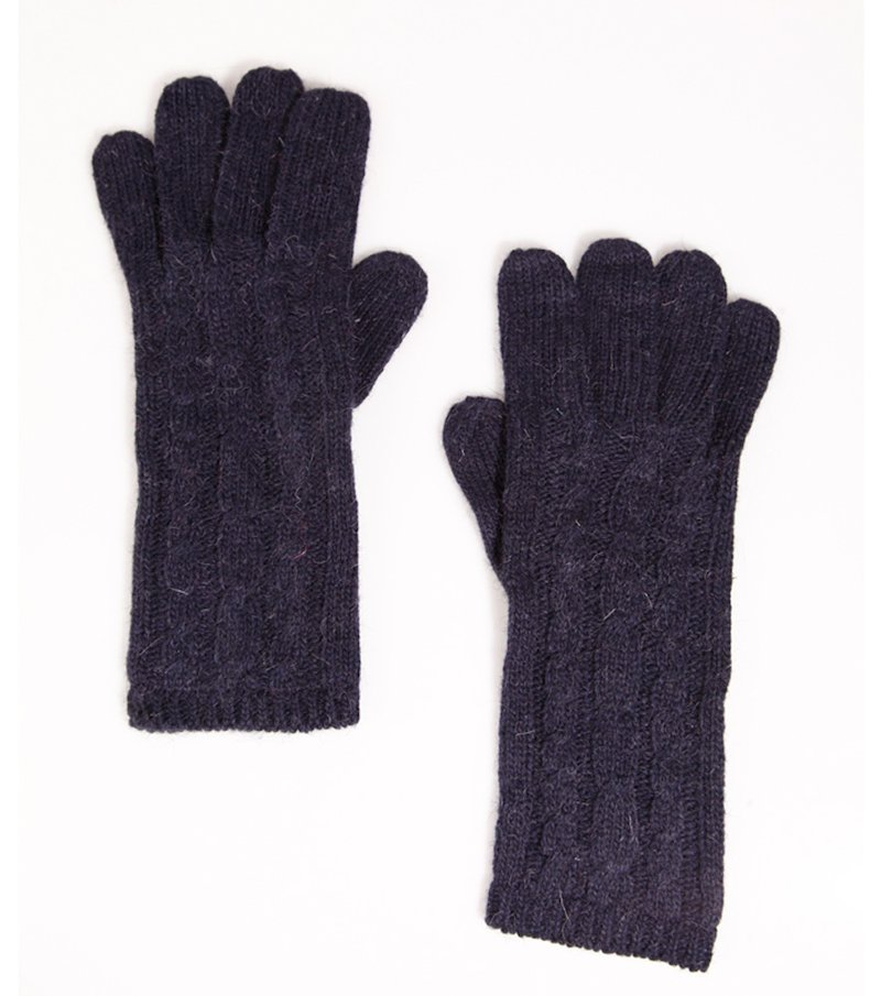 Guantes mujer punto tricot