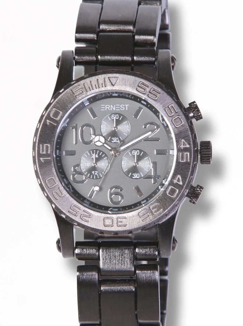 Reloj deportivo maxi acero