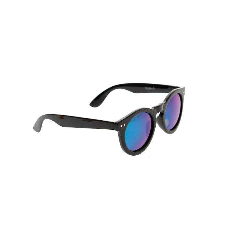 Gafas de sol mujer con cristales tornasolados - Negro