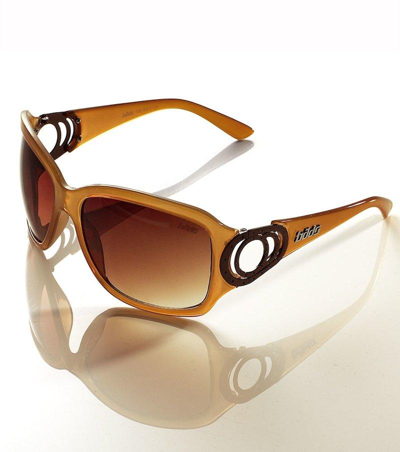 Gafas de sol con montura de pasta - Marrón