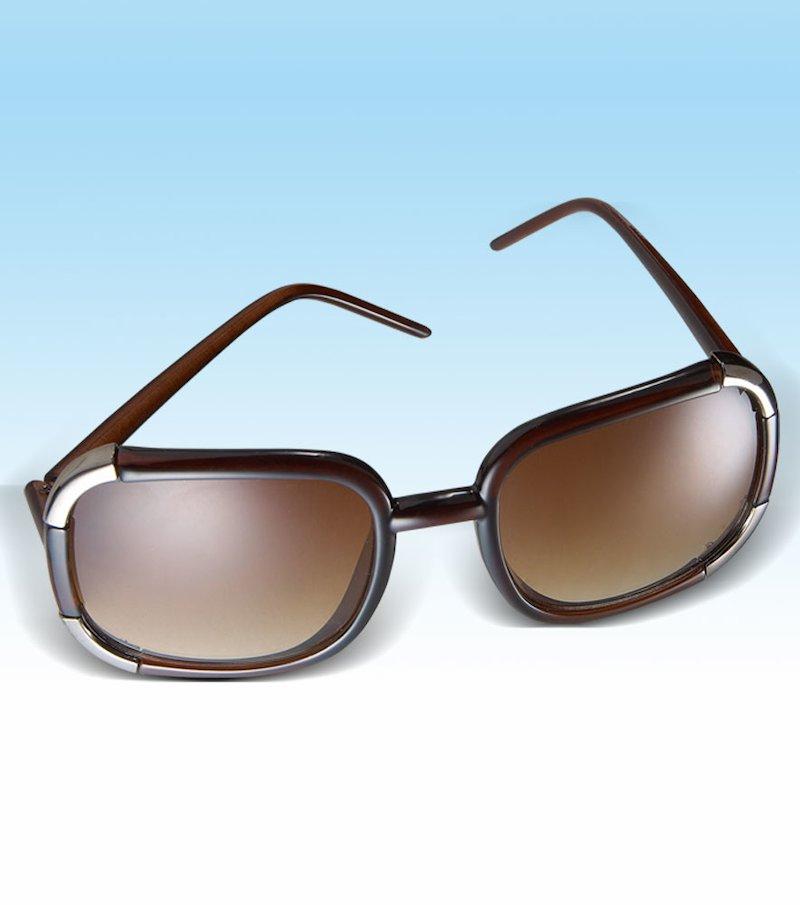 Gafas de sol mujer de pasta y metal - Negro