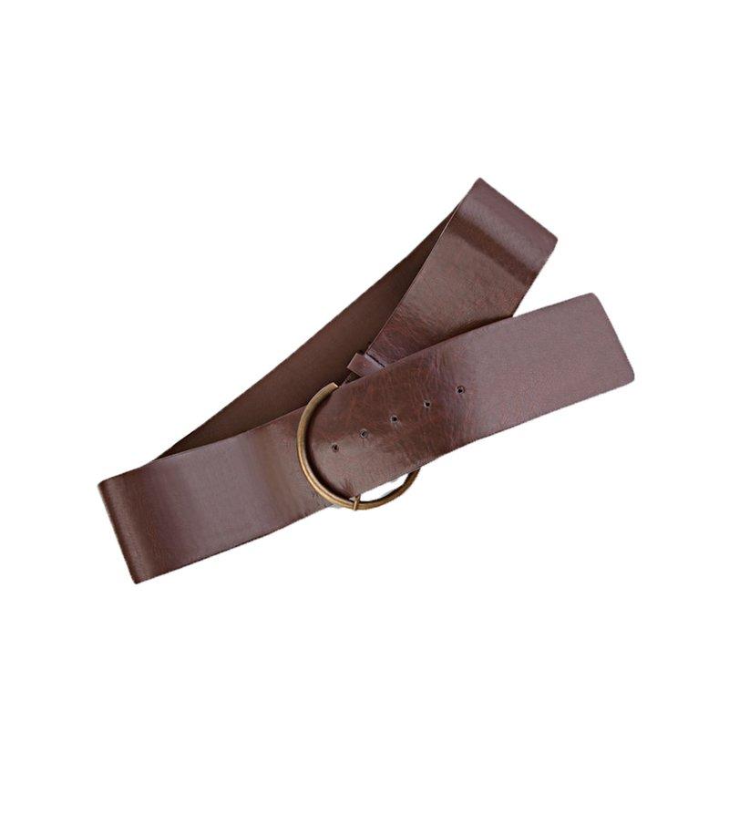 Cinturón ancho mujer en símil piel