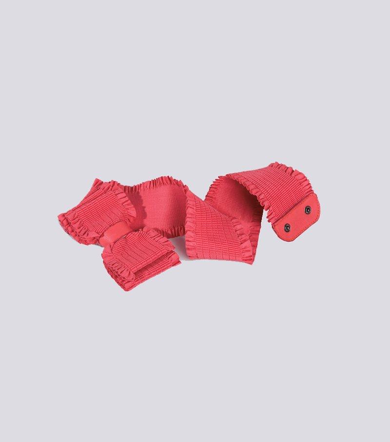 Cinturón ancho mujer elástico flor