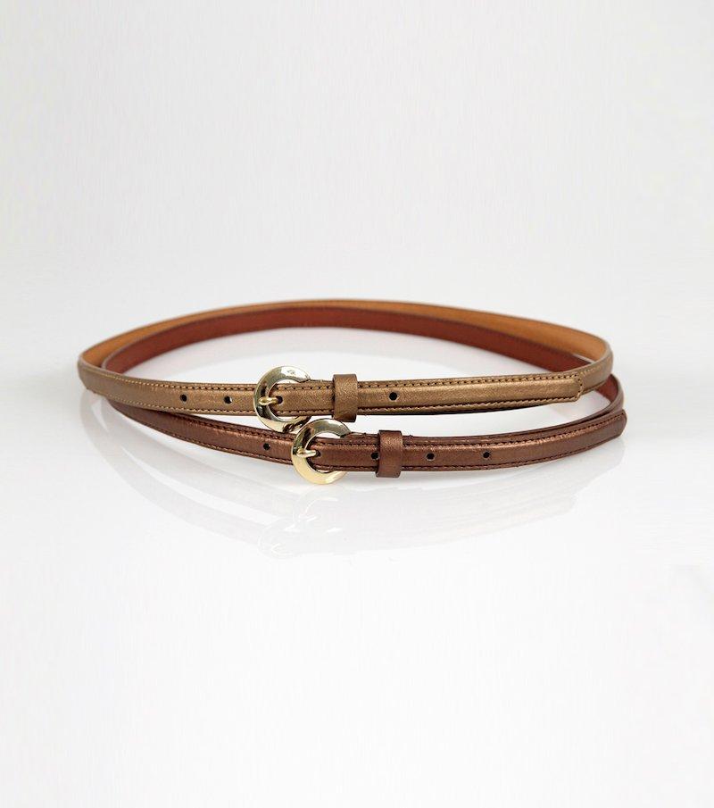 Cinturón mujer símil piel