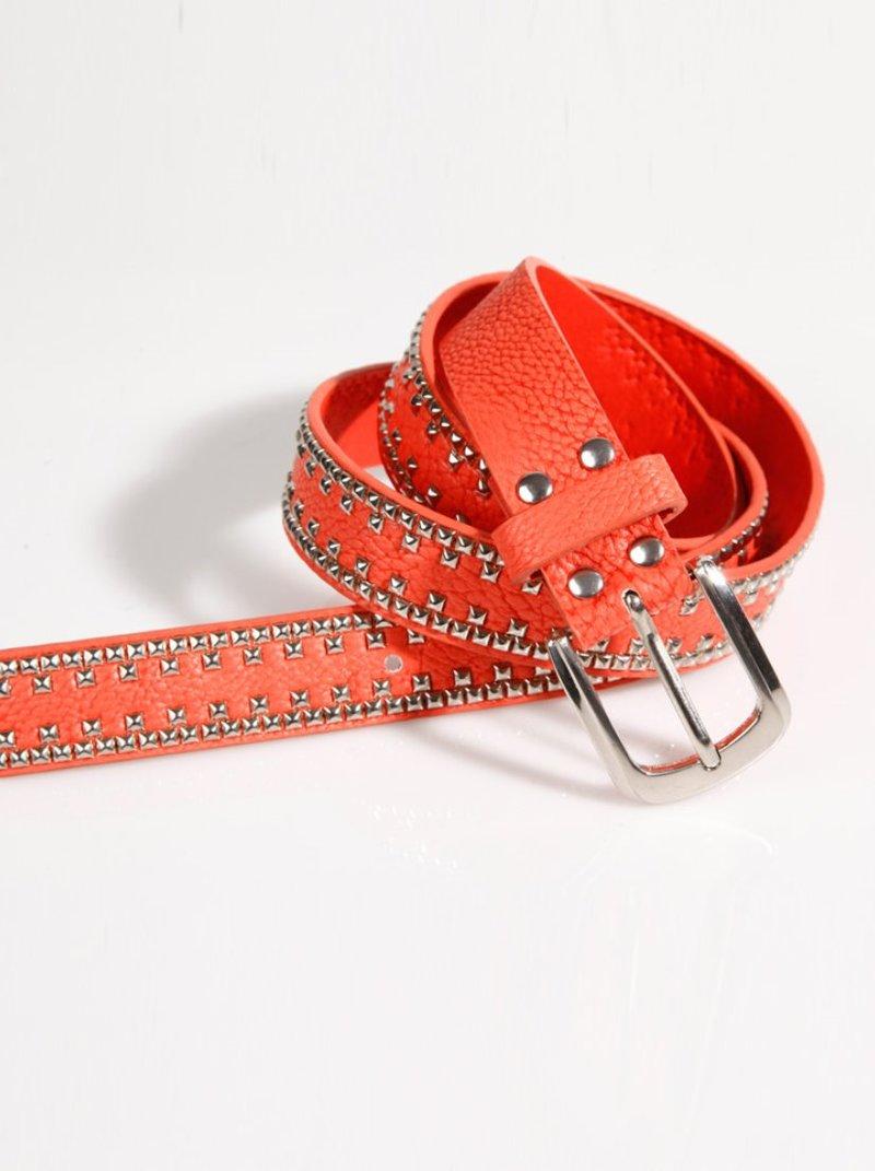 Cinturón mujer coral
