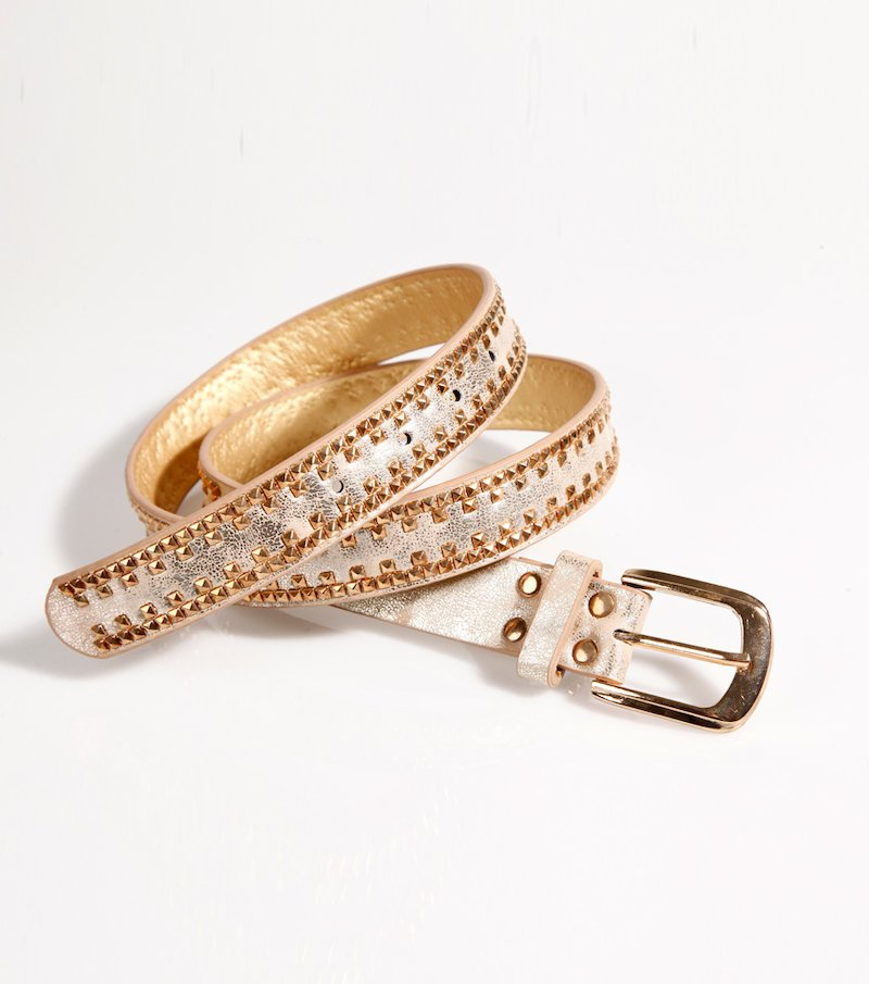 Cinturón mujer oro viejo