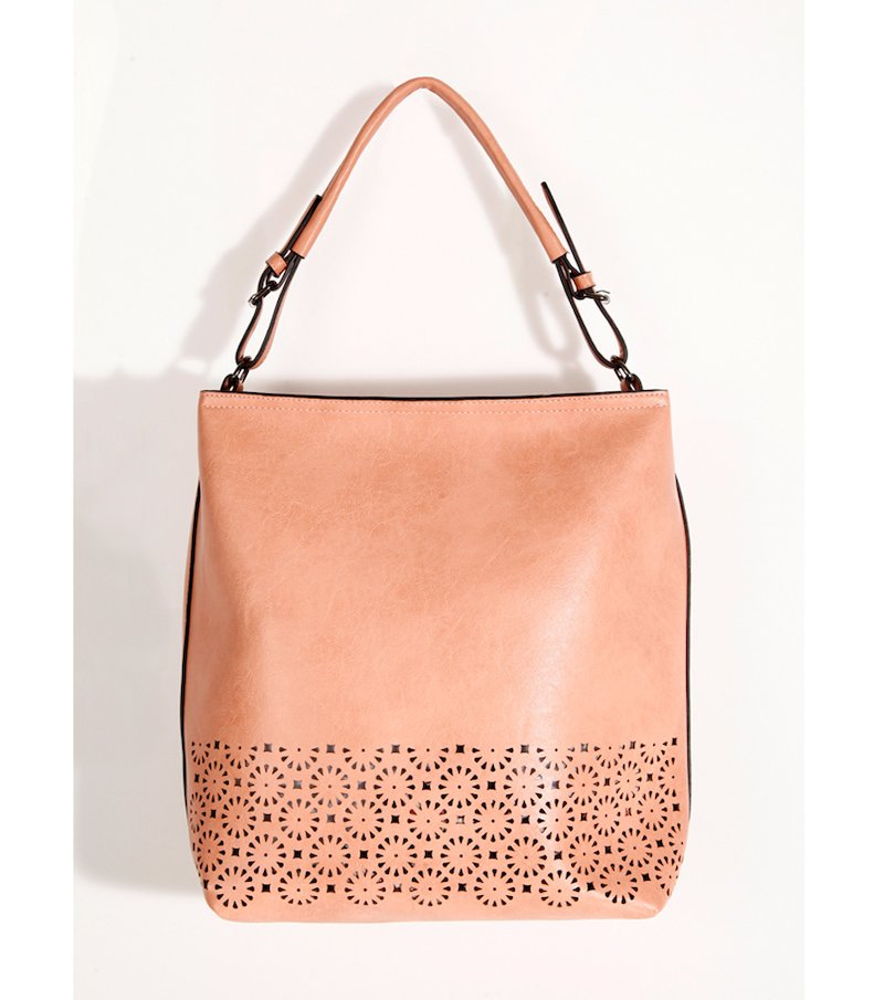 Bolso mujer rosa forro desmontable