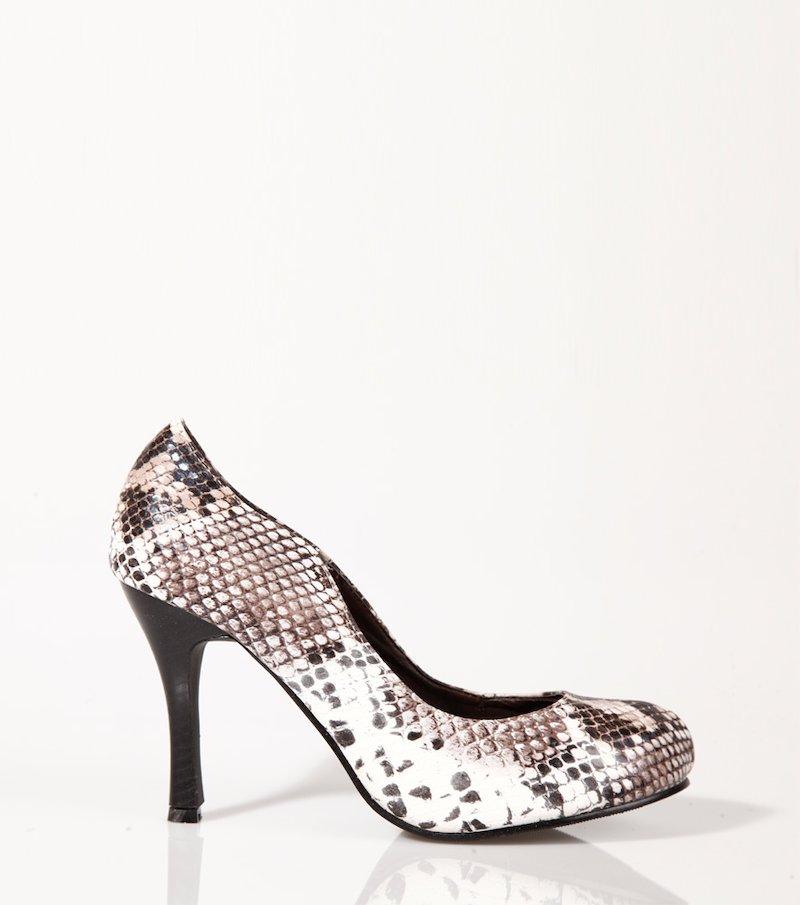 Zapatos mujer de tacón símil piel