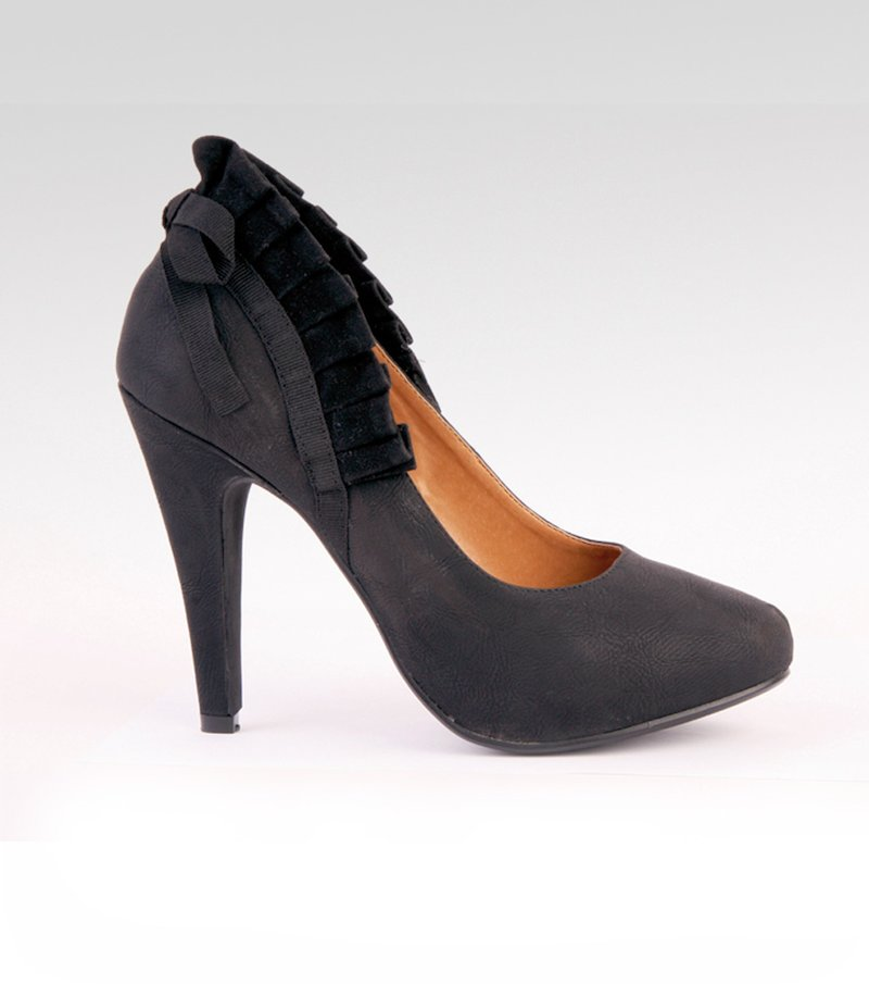 Zapatos mujer tacón símil piel