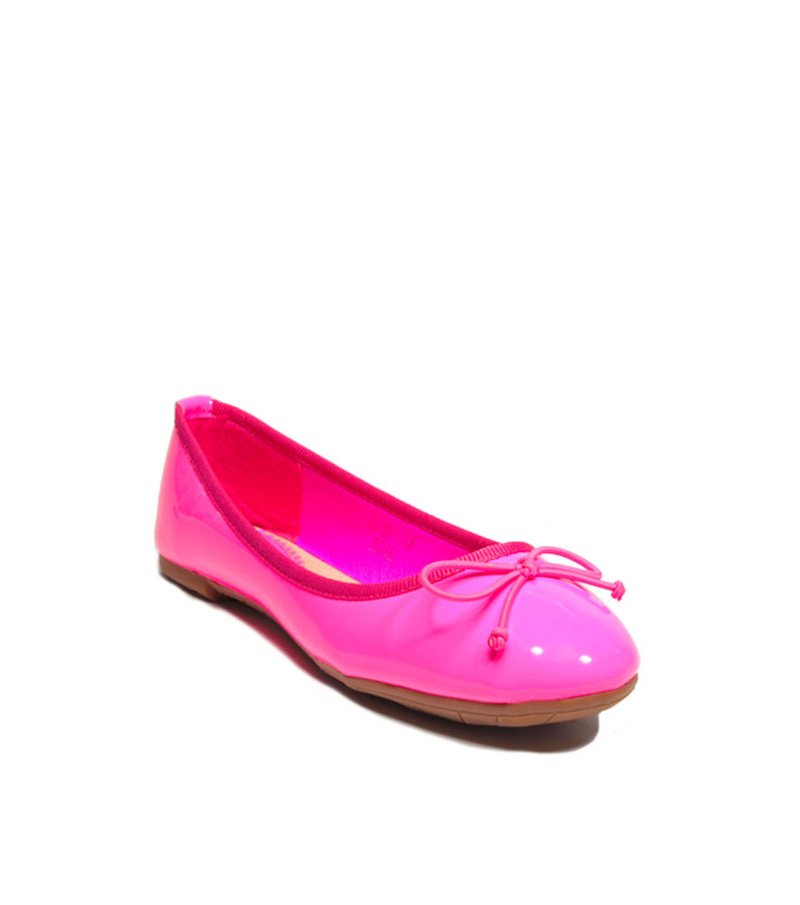 Zapatos bailarinas mujer rosa