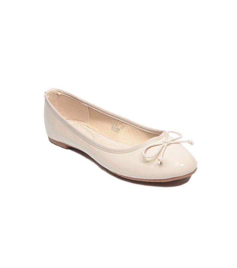 Zapatos bailarinas mujer blanco