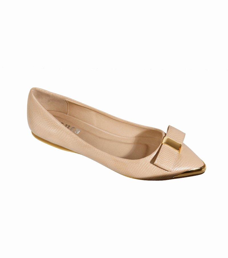 Zapatos bailarinas mujer con lazo