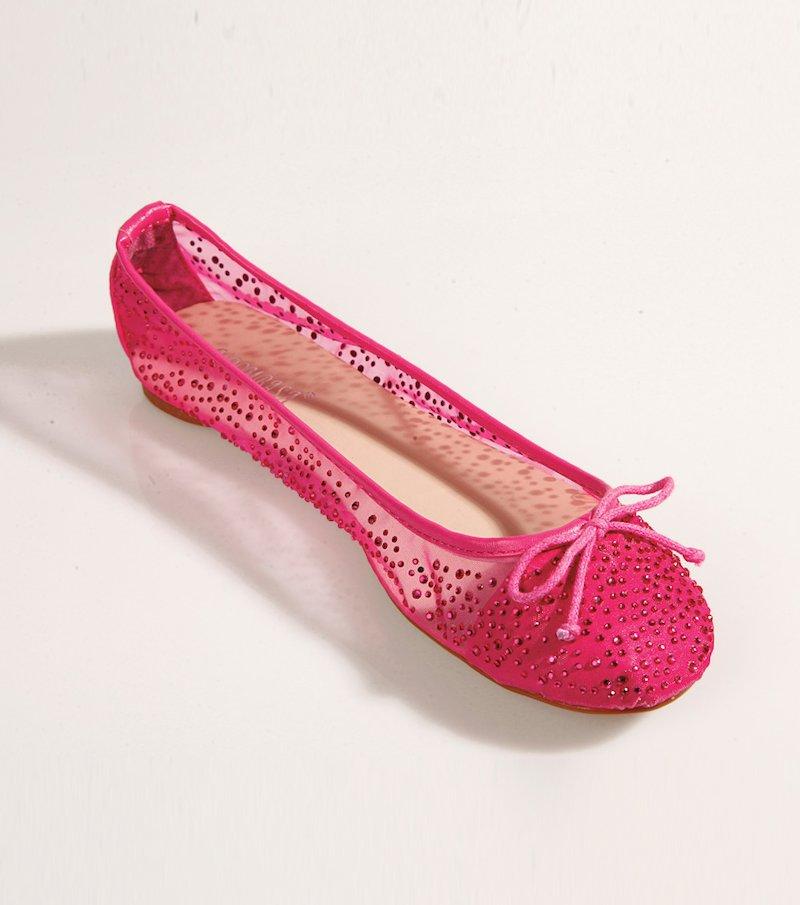 Zapatos bailarinas mujer con aplicaciones