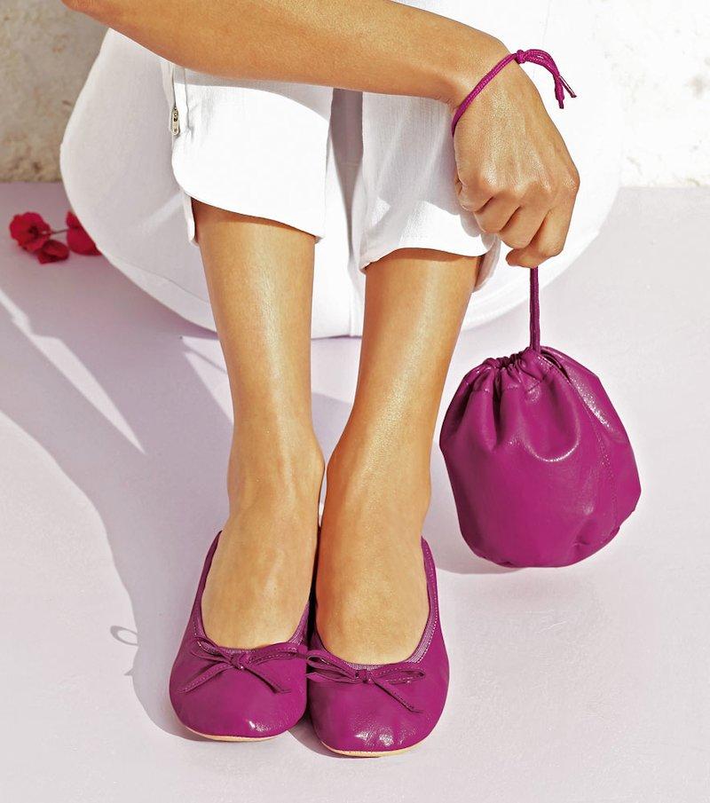 Bailarinas + bolsa gratis