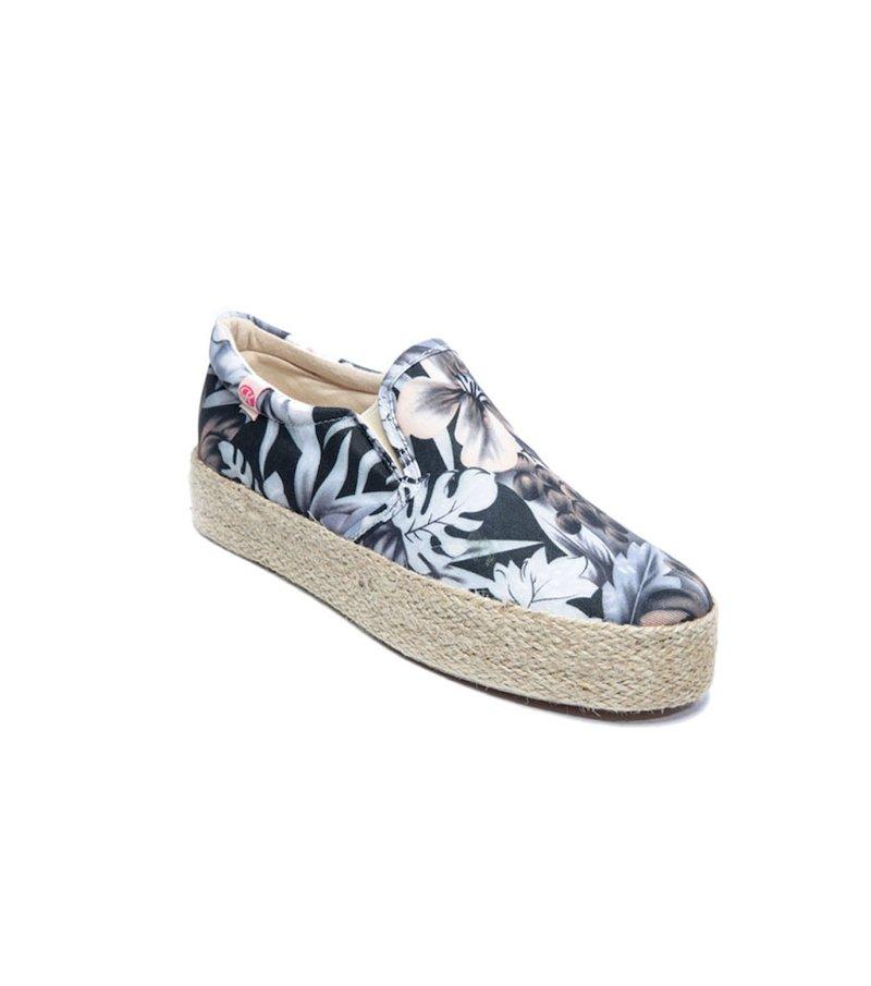 Zapatillas deportivas mujer lona con suela de esparto