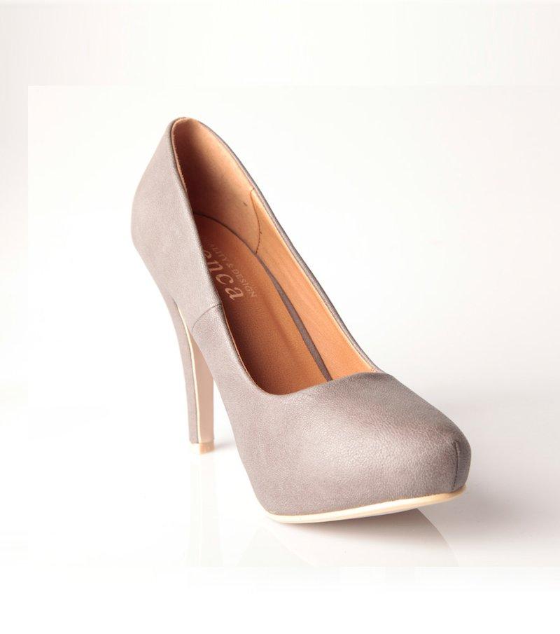 Zapatos mujer con plataforma símil piel