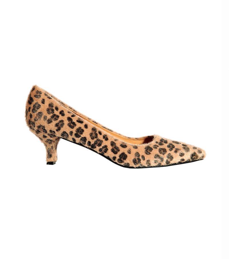 Zapatos mujer estampado leopardo