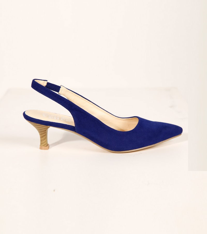 Zapatos de tacón mujer corte salón antelina
