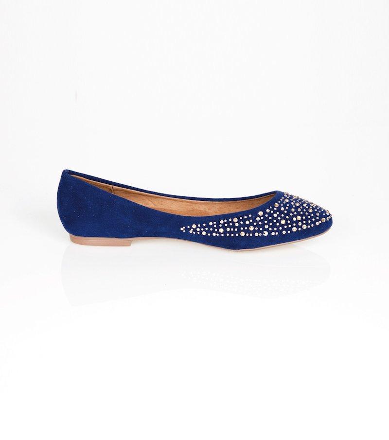 Zapatos planos bailarinas mujer con strass
