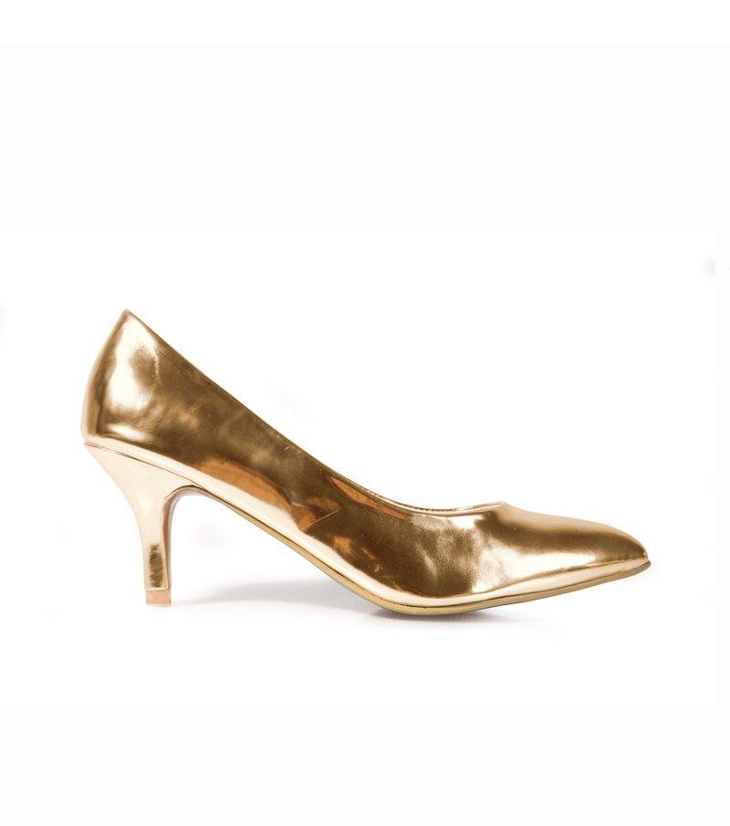 Zapatos de vestir mujer corte salón - Metal