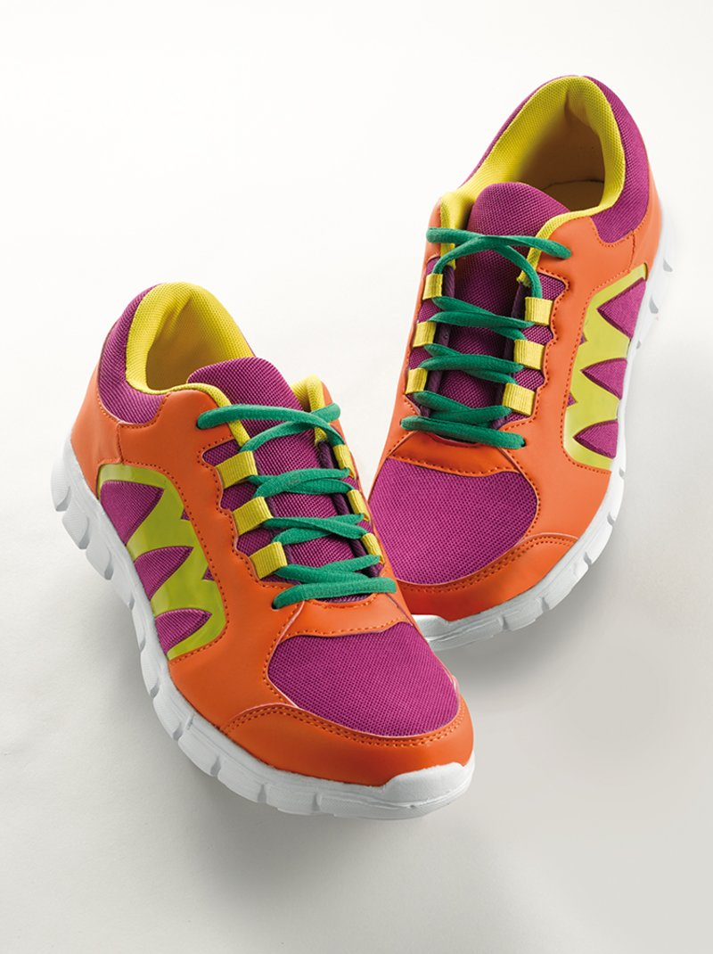 Zapatillas deportivas multicolor con cordones