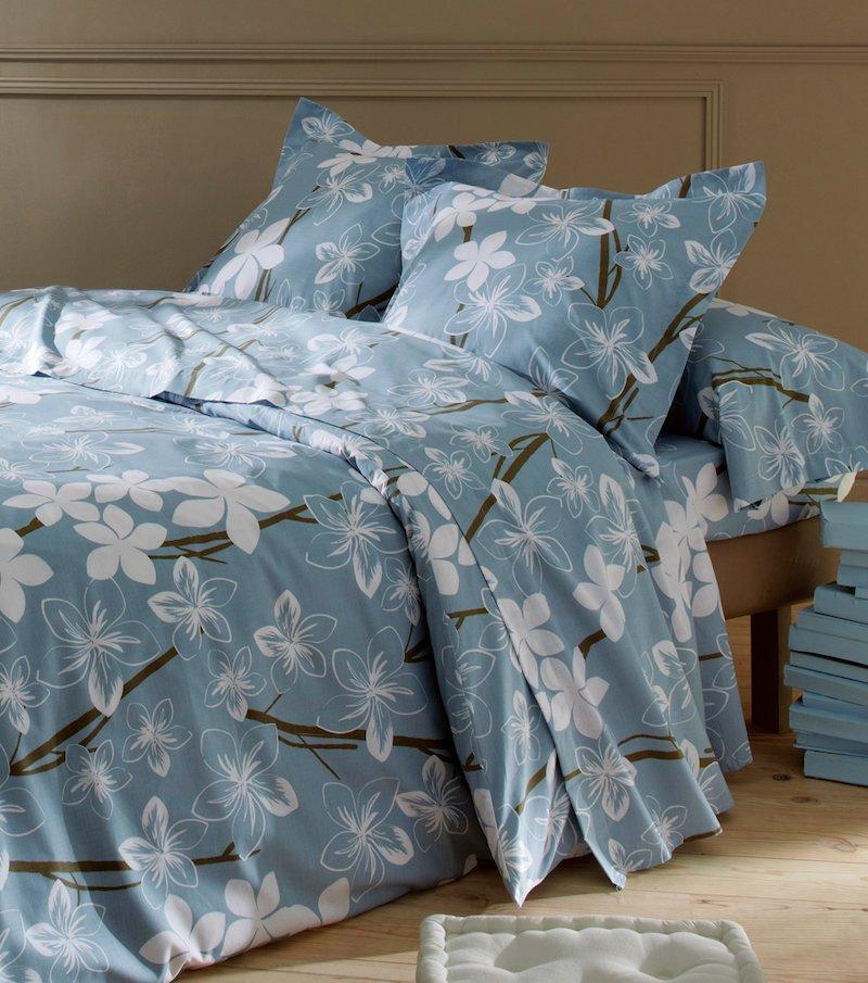 Juego de cama 2 piezas Orquídea polialgodón