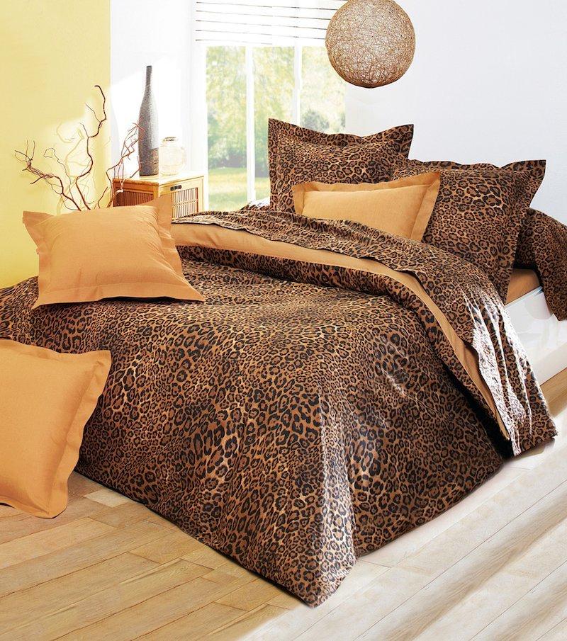 Juego cama 2 piezas estampado África polialgodón