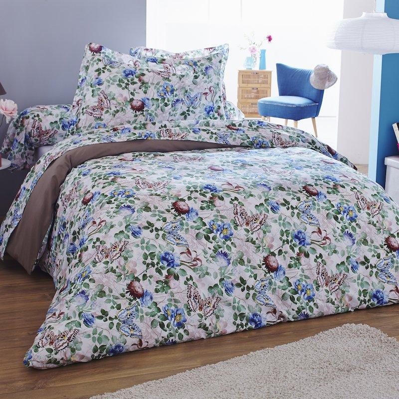 Juego de cama 2 piezas estampado Garden